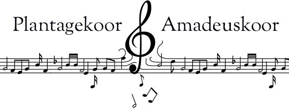 Plantagekoor & Amadeuskoor Logo